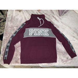 Maroon PINK sweatshirt